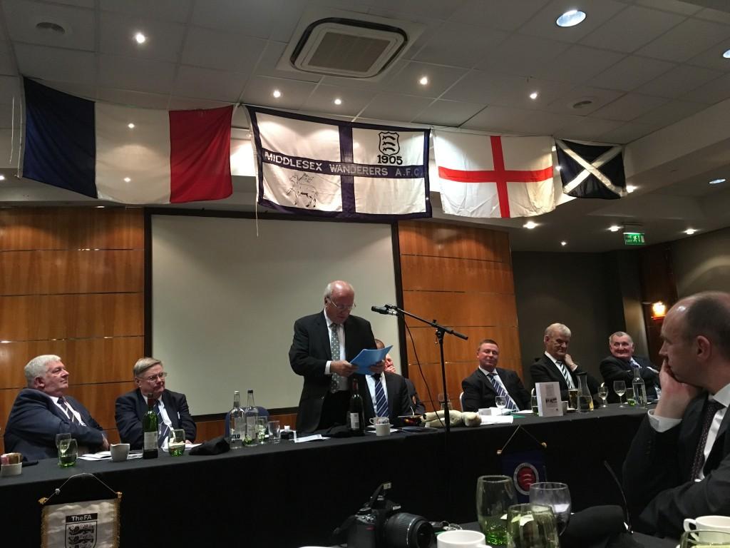 FA Chairman, Greg Dyke