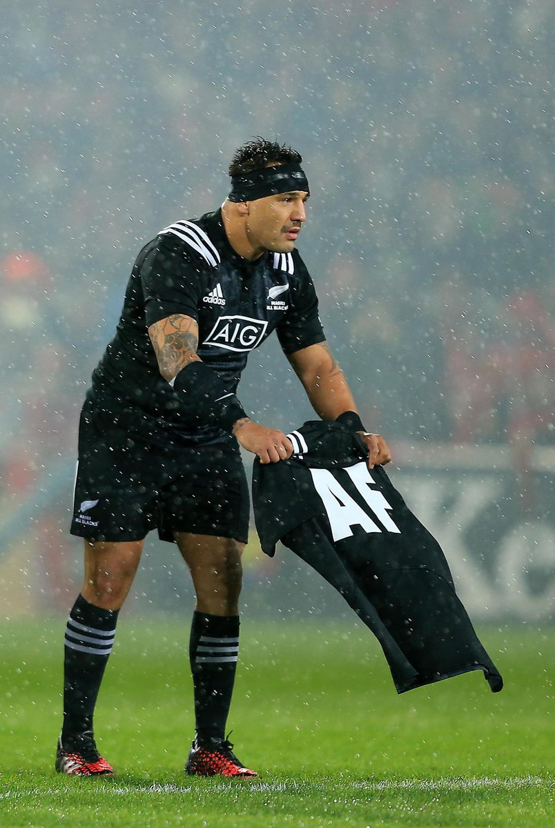 AB Maori's Present shirt with Munster coach's initials